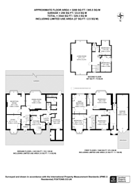 Large floorplan for Russell Hill, Purley, CR8