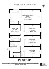 Large floorplan for St Matthews Road, Brixton, SW2