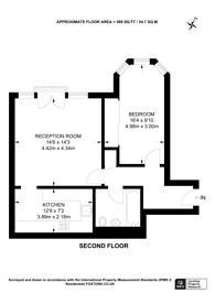 Large floorplan for Hera Court, Isle Of Dogs, E14
