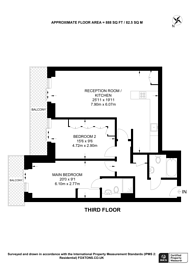Large floorplan for Ellerton Road, Surbiton, KT6