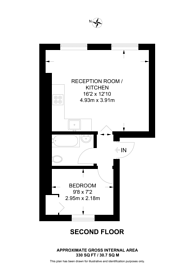 Large floorplan for Overstone Road, Hammersmith, W6