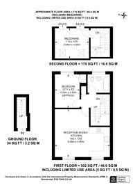 Large floorplan for Bravington Road, Maida Vale, W9