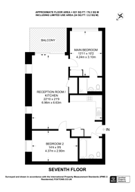 Large floorplan for Buckhold Road, Wandsworth Town, SW18