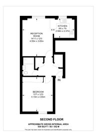 Large floorplan for Thorndike Close, Chelsea, SW10