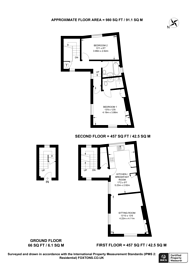 Large floorplan for Castle Street, Guildford, GU1