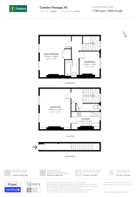 Large floorplan for Camden Passage, Angel, N1