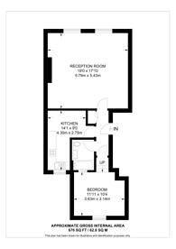 Large floorplan for Churchfield Road, Poet's Corner, W3