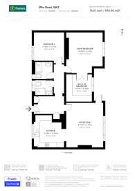 Large floorplan for Effra Road, Brixton, SW2