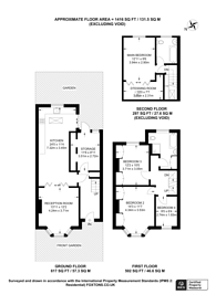 Large floorplan for Chelford Road, Bromley, BR1
