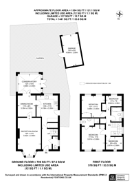 Large floorplan for Monro Drive, Stoughton, GU2