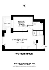 Large floorplan for Elephant Park, Elephant and Castle, SE1