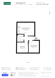 Large floorplan for Hackney Road, Shoreditch, E2