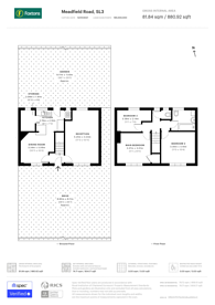 Large floorplan for Meadfield Road, Berkshire, SL3