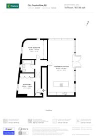 Large floorplan for City Garden Row, Islington, N1
