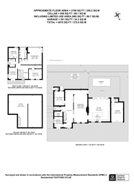 Large floorplan for Spurgeon Avenue, Upper Norwood, SE19