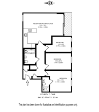 Large floorplan for Ten Rochester Row, Westminster, SW1P