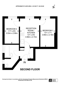 Large floorplan for Cromwell Road, Earls Court, SW5