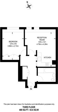 Large floorplan for Breams Buildings, City, EC4A