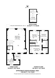 Large floorplan for Berners Street, Fitzrovia, W1T