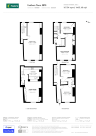 Large floorplan for Feathers Place, Greenwich, SE10