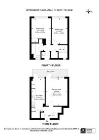 Large floorplan for Earlsferry Way, Islington, N1