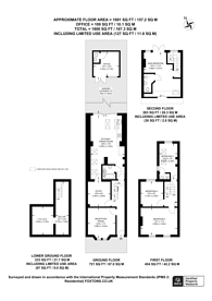 Large floorplan for Field Road, Forest Gate, E7
