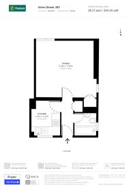 Large floorplan for Union Street, Southwark, SE1