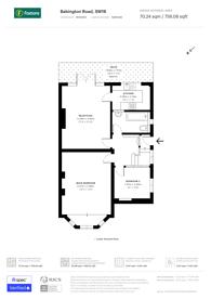 Large floorplan for Babington Road, Streatham Park, SW16