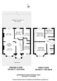 Large floorplan for Pinner Park Gardens, Headstone, HA2