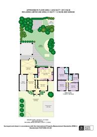 Large floorplan for London Road, Burpham, GU4