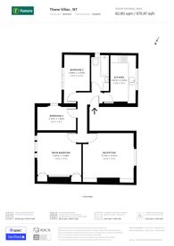 Large floorplan for Thane Villas, Holloway, N7