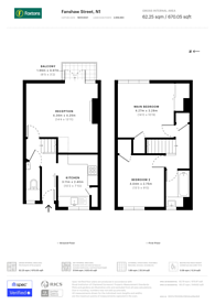 Large floorplan for Fanshaw Street, Hoxton, N1
