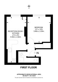Large floorplan for Bell Street, Marylebone, NW1