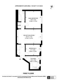 Large floorplan for Queensway, Queensway, W2