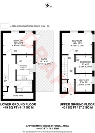 Large floorplan for Greenwell Street, W1W, Fitzrovia, W1W