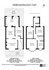 Large floorplan for Thurlby Road, Wembley, HA0
