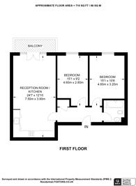 Large floorplan for High Street, Feltham, TW13