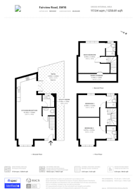 Large floorplan for Fairview Road, Norbury, SW16