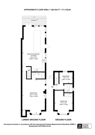 Large floorplan for Highbury Hill, Highbury, N5