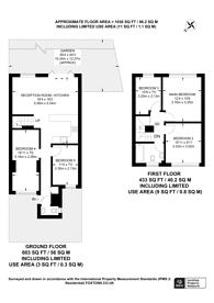 Large floorplan for Longton Grove, Sydenham, SE26