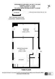 Large floorplan for London Road, Twickenham, TW1