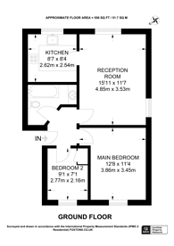Large floorplan for Meads Court, 38 Carnarvon Road, Stratford, E15