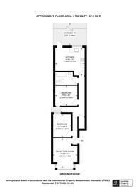 Large floorplan for Elm Road E11, Leytonstone, E11