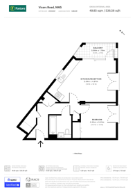 Large floorplan for Vicars Road, Gospel Oak, NW5