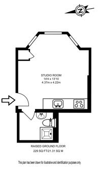 Large floorplan for Highstreet Kensington, High Street Kensington, W8