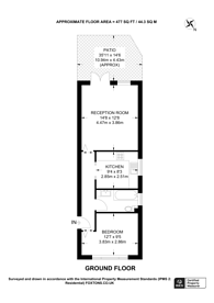 Large floorplan for Kings Drive, Greenford, UB6