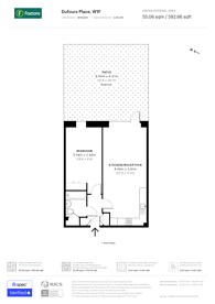 Large floorplan for Dufours Place, Soho, W1F