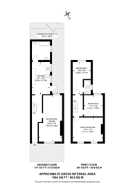 Large floorplan for Cruikshank Road, Stratford, E15