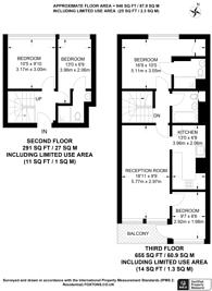 Large floorplan for Upper Camelford Walk, Notting Hill, W11
