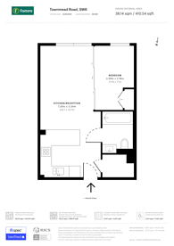 Large floorplan for Octavia House, Imperial Wharf, SW6